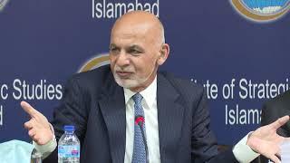 President Ghani's remarks in Institute of Strategic Studies, Islamabad