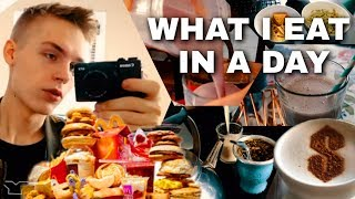 What I Eat In A Day *NOT Healthy* (DON'T COPY ME)