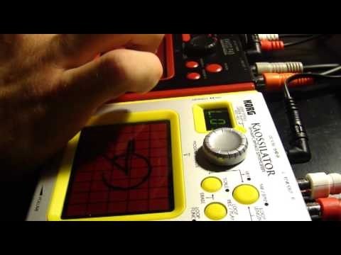 """Modern Day Mozart (LIVE Kaoss set)"" by Seven d' Six (Korg Kaossilator and Mini-KP)"