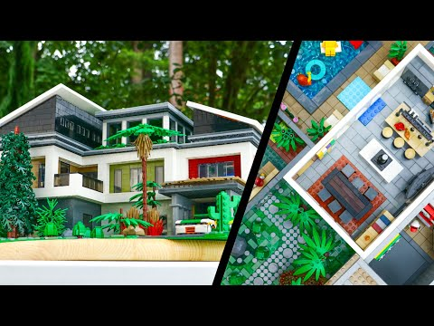 MASSIVE LEGO Vacation MANSION MOC