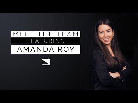 Meet the team feat. Amanda Roy