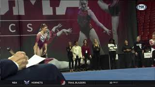 Anastasia Webb (Oklahoma) 2019 Floor vs Georgia 9.9