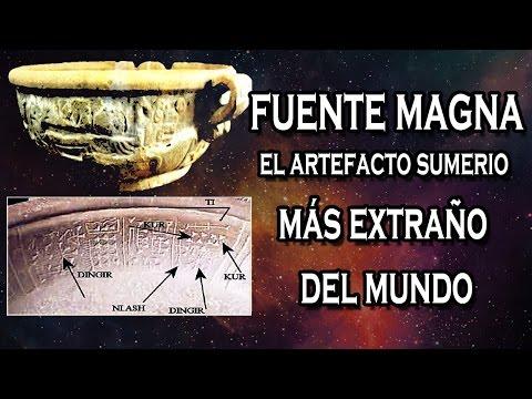 Fuente Magna, el artefacto SUMERIO más extraño del mundo | VM Granmisterio