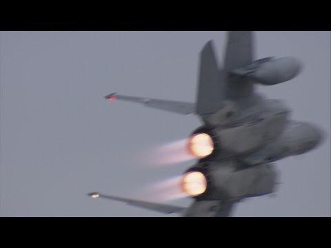 那覇基地エアーフェスタ2013 - F-15 機動飛行