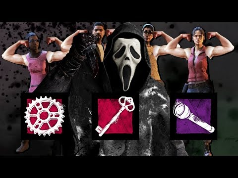GHOST FACE VS INSANELY OPTIMAL SWF GROUP! - Dead by Daylight!