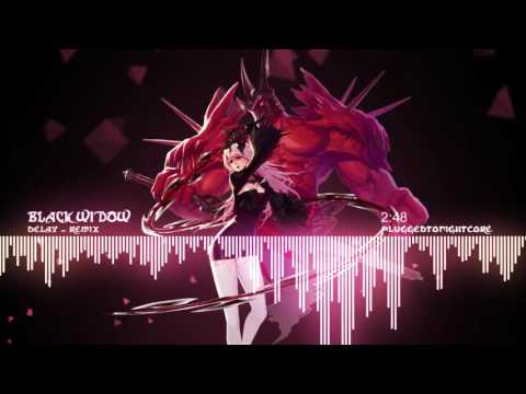 [Nightcore] Black Widow - Remix