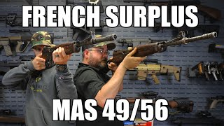 Mas 49/56, 7.5MM French, Semi-Auto Rifle W / 10 Round Removable Box Mag , Surplus Turn In Condition - C & R Eligible