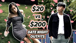 Date Night Outfits | $20 vs $200 | EP 6