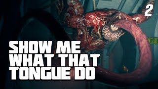 """FACE TO FACE WITH """"THE LICKER"""" - Resident Evil 2 Remake WALKTHROUGH GAMEPLAY Part 2 PS4 PRO"""