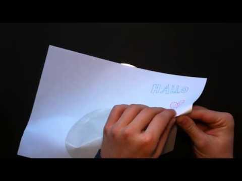 Tutorial: ein CD Druck selber machen