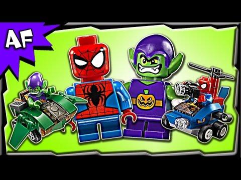 Vidéo LEGO Marvel Super Heroes 76064 : Spider-Man contre le Bouffon Vert