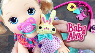 Baby Alive Go Bye-Bye Doll Gets A 3-in-1 Travelin' Diaper Bag Gym And New Barrettes