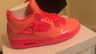 """Cop 🔥 Or Drop 👎🏿 : WMNS Air Jordan Retro 4 """"Hot Punch"""""""