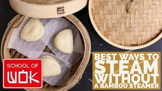 How to Steam Without a Bamboo Steamer!