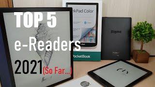 Top 5 e-Readers of 2021, so far