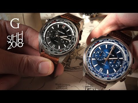 EXCLUSIVE | SIHH 2018: Jaeger-LeCoultre Polaris & Polaris Chronograph Full Collection Deep Dive!