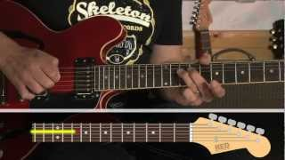 How to play - Can't buy me love - riff - the Beatles - guitar lessons