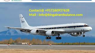 Book Best Emergency Air Ambulance Service in Allahabad and Varanasi by King