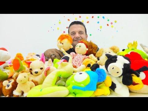 Videos para Niñas. Peluches muñecas. Mejores juguetes para niños