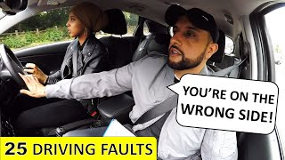 FAILS With 25 Driving Faults But Still Thinks She Has PASSED