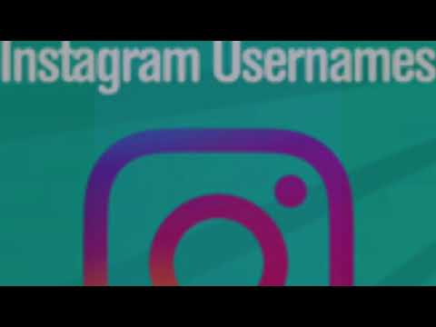 Instagram Name Ideas!
