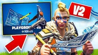 Playground Mode V2 in Fortnite!! (Fortnite Battle Royale)