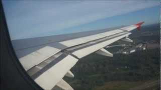 полёт на самолёте А-319 Москва-Сочи(Адлер)