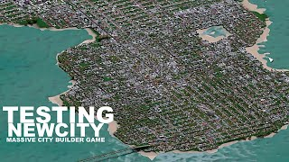 Trying A New Massive City Builder Game | NewCity