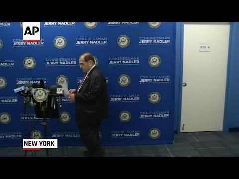 "Public at last, Special Counsel Robert Mueller's report revealed to a waiting nation Thursday that President Donald Trump tried to seize control of the Russia probe and force Mueller's removal to stop him from investigating potential obstruction of justice by the president. House Judiciary Chairman Jerrold Nadler said impeachment was still a ""possibility."" (April 18)"