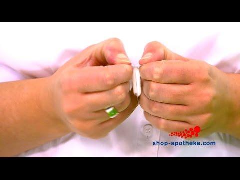 Postoperativen Behandlung von Prostata