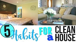 HOW TO ALWAYS HAVE A CLEAN HOUSE | LAZY GIRLS GUIDE TO CLEANING | Page Danielle