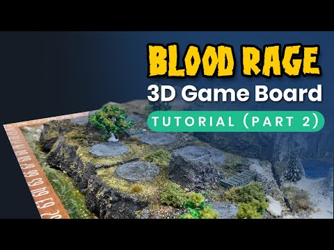 Blood Rage: Playable 3D game board tutorial (Part 2)