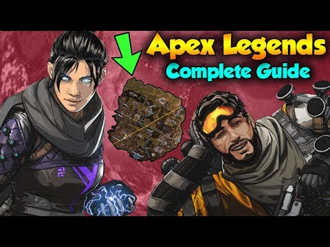 Apex Legends All Characters and Map Locations Guide (Apex Legends Battle Royale Guide)