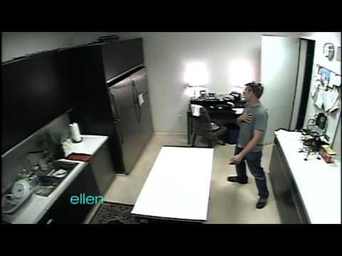 Ellen Tests Her Refrigerator Alarm