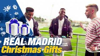 Roberto Carlos and DjMariio surprise Real Madrid players | Vinicius, Modric, Carvajal and more
