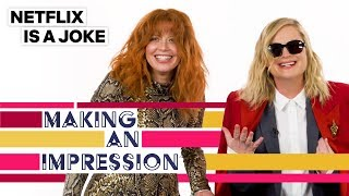 Amy Poehler Attempts An Impression Of Natasha Lyonne | Netflix Is A Joke