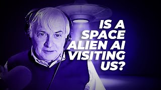 Is a space alien AI visiting us?