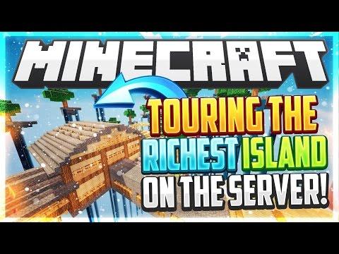 Minecraft-Sarmacraft Skyblock 3rd best island on server