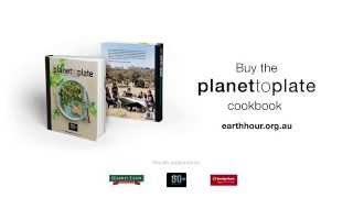 Planet to Plate: The Earth Hour Cookbook - Recipe Shoot