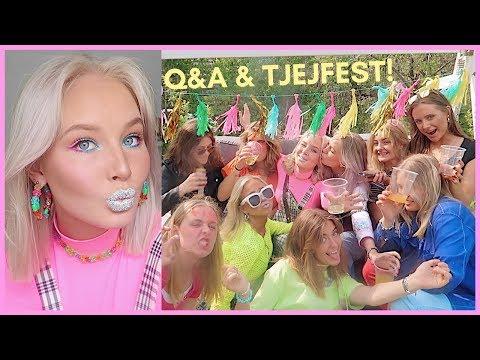 FIXA ER MED MIG TILL FÄRGTEMA-FEST | grwm + vlogg