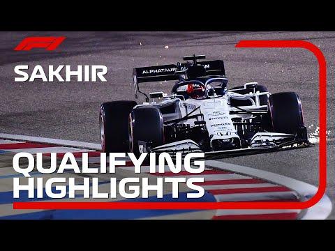 F1 第16戦サクヒール 予選の様子をまとめたハイライト動画