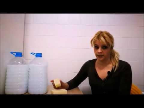 Cómo Hacer Litros De Jabón Líquido Para La Lavadora