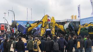 Kaiser Schreitbagger Demo Show BAUMA 2019 München
