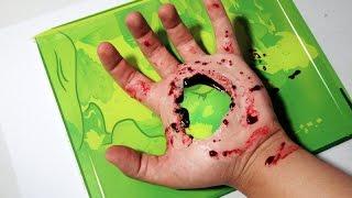 COMO FAZER BURACO 3D na Mão #2