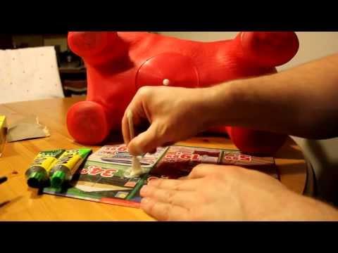 Gummi Hüpfball, Hüpfpferd reparieren Teil 02/04: Das Kleben