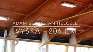 Adam Sebastian Helcelet - High Jump 206 cm