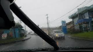 Driving East on the Naparima Mayaro Road, Libertville, Rio Claro, Trinidad. 29.12.17