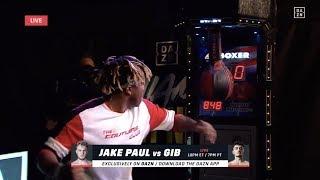 KSI & Logan Paul Do Punch Machine Challenge