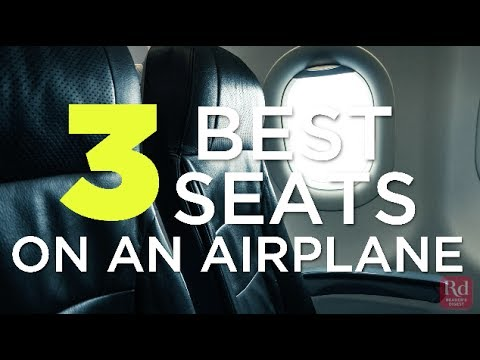 3 Best Seats on an Airplane