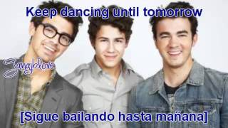 Jonas Brothers - Dance Until Tomorrow [Lyrics - Traducida Al Español][New Song]